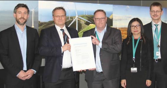 siemens DNV GL Certifies Siemens' 7 MW Offshore Wind Turbine