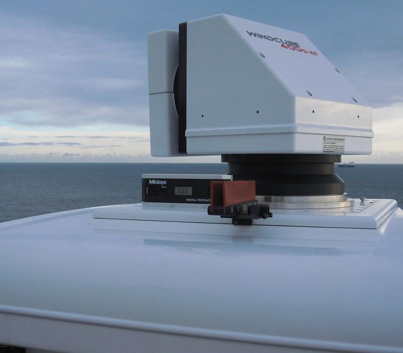 carbontrust Carbon Trust Testing LIDAR For 3D Wind Mapping