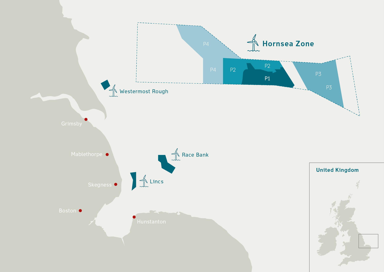 dong energy to reconfigure hornsea offshore wind