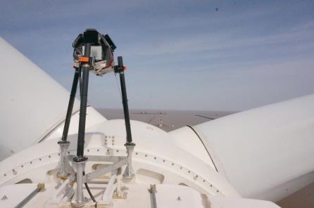 ZephIR-Goldwind-6MW-installed Goldwind Installs ZephIR LiDAR On Prototype 6 MW Turbine