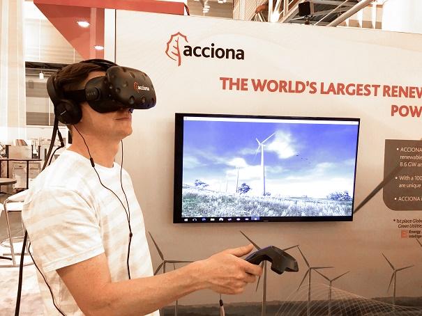 realidad-virtual-2 ACCIONA Presents Wind Farm Tours Through Virtual Reality Software
