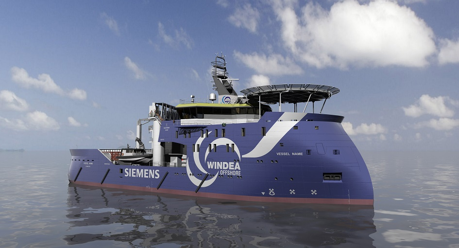 IM2015010342PS_300dpi Siemens' Gemini Wind Service Operation Vessel Has Christening Day