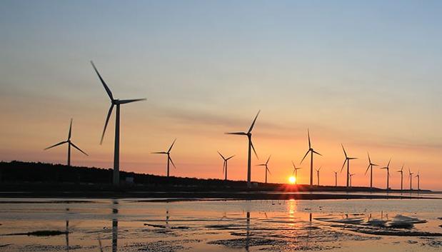 turbines-sun Modern Energy Management Closes On 170 MW Of Wind
