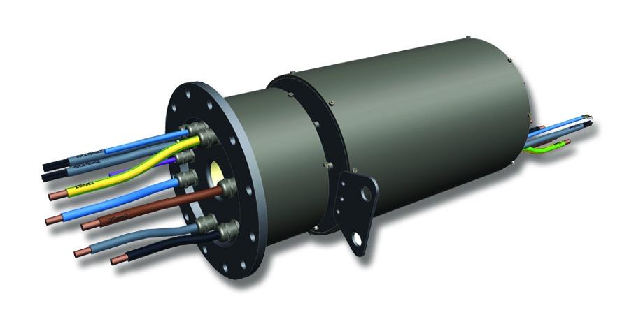 slip New Pitch Control Slip Ring Enhances Wind Turbine Reliability