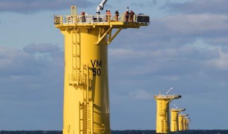 offshore-foundation-installation Veja Mate Completes Offshore Foundation Installation