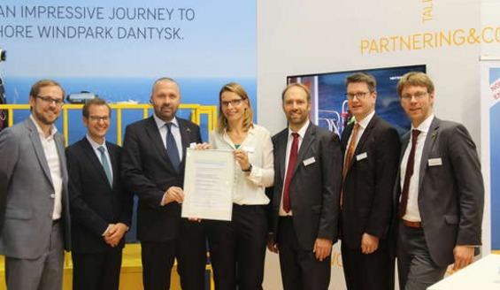 DanTysk DNV GL Certifies Accommodation Platform For Offshore Wind Farms