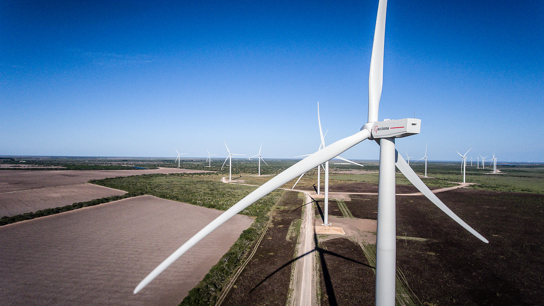 SanRoman2 ACCIONA Powers Up San Roman Wind Farm In Texas