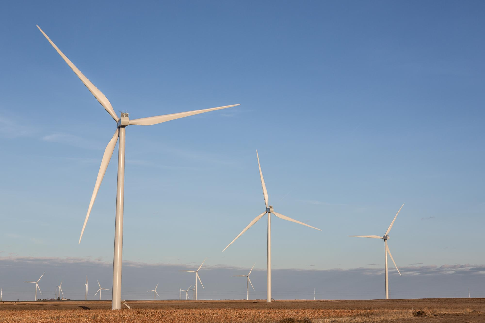 First Half Of Cimarron Bend Wind Farm Begins Operations In ...