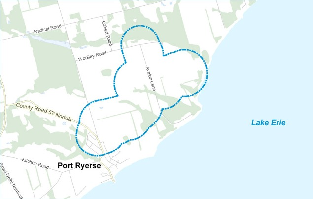 Map-Port-Ryerse1 Boralex's Port Ryerse Wind Farm Up And Running In Ontario