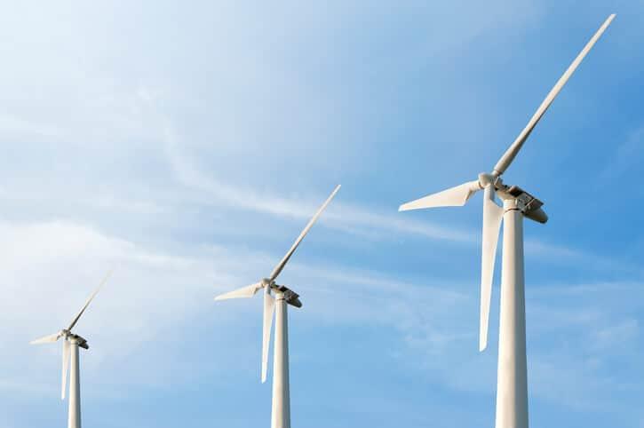 wind-turbines-blue-sky Military Concerns Spark Proposed Wind Moratorium In North Carolina