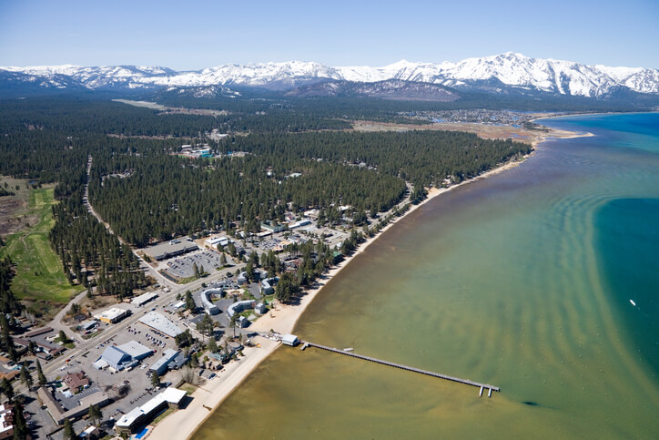 south-lake-tahoe-aerial City Of South Lake Tahoe Makes 100% Renewables Pledge