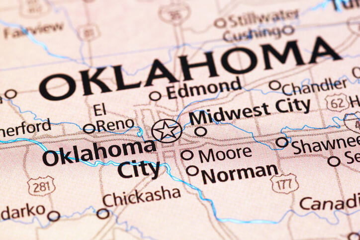 Wind Farms In Oklahoma Map.Redbed Plains Wind Farm Begins Construction In Oklahoma North