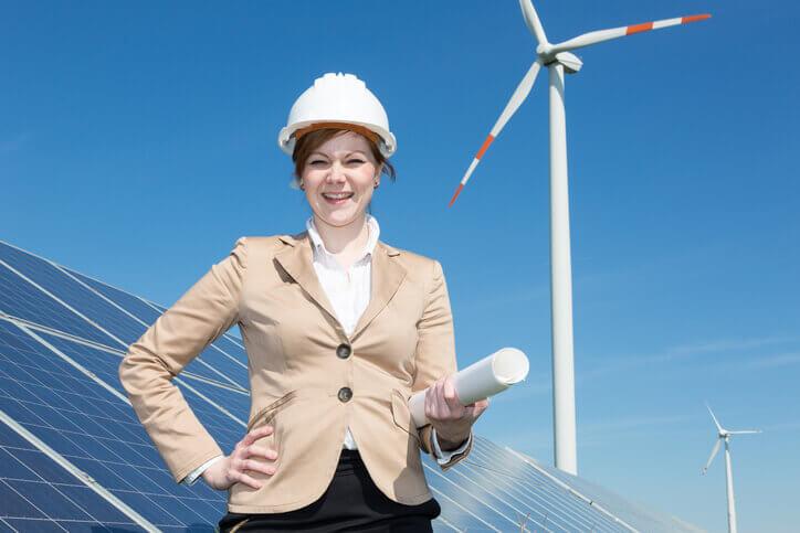 women wind energy