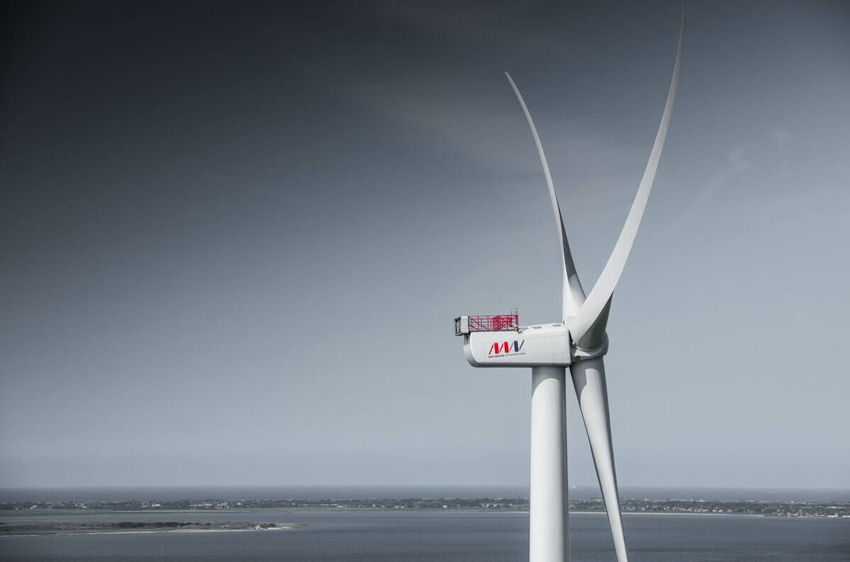 Wind >> MHI Vestas Launches V164-9.5 MW Offshore Wind Turbine - North American Windpower