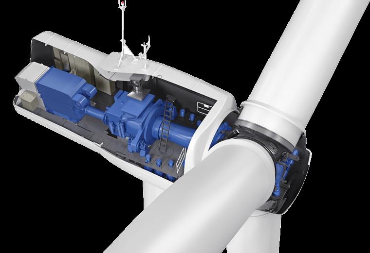 senvion Senvion Installs First Prototype Of New 3.6M140 EBC Turbine