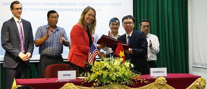 vietnam U.S. Trade & Development Agency Funds Near-Shore Wind In Vietnam