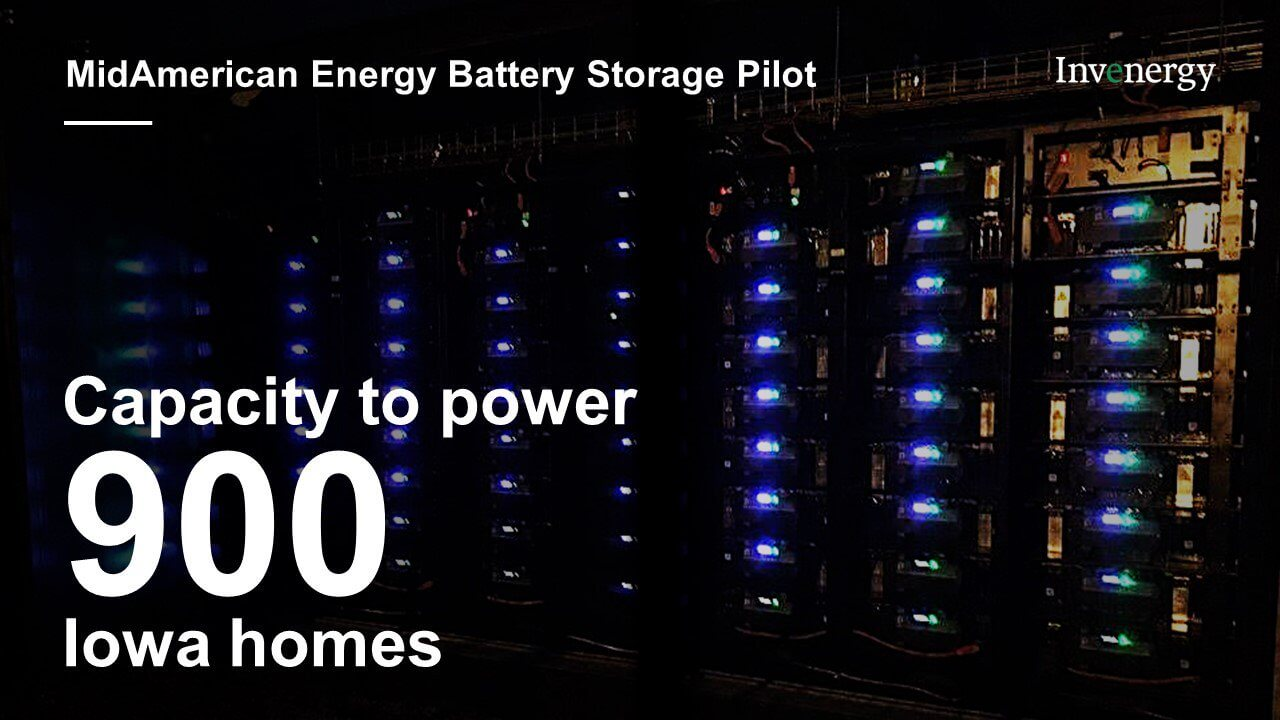 Invenergy Flips Switch On MidAmerican Energy Storage System - North