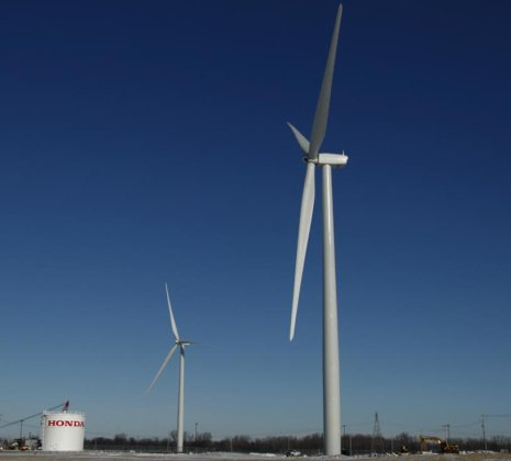 Ohio Honda Transmission Plant Reflects On Five Years Of On-Site Wind
